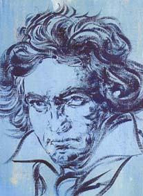 Beethoven par Joan Carandell