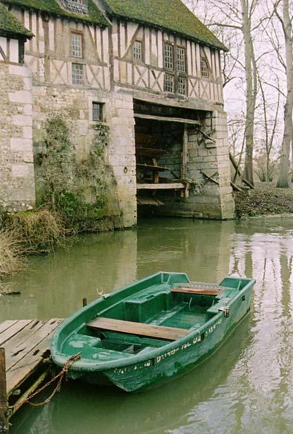 Le Moulin d'Andé, mars 2006