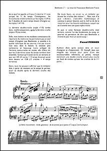 Une page du n°2 de la revue Beethoven
