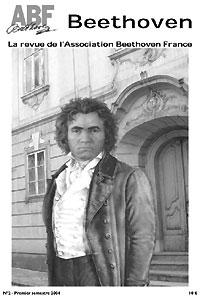 Couverture du n°2 de la revue Beethoven