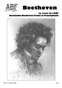 Couverture du n°5 de la revue Beethoven