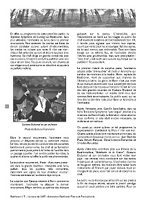 Page 62 du n°5 de la revue Beethoven