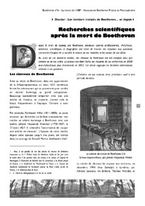 Page 27 du n°6 de la revue Beethoven