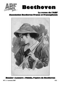 Couverture du n°7 de la revue Beethoven