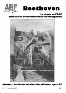 Couverture du n°11 de la revue Beethoven