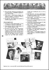 Intérieur de la revue