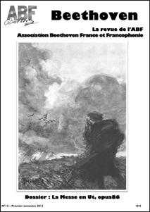 Couverture du n°13 de la revue Beethoven