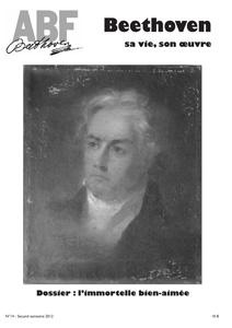 Couverture du n°14 de la revue Beethoven