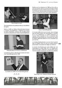 Page 3 du n°14 de la revue Beethoven