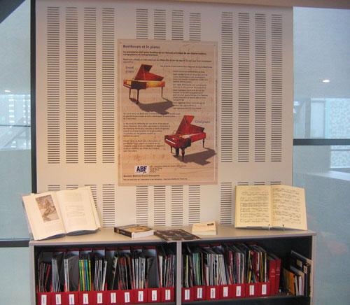 Exposition Beethoven à la Cité de la Musique à Paris