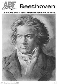 Couverture du n°1 de la revue Beethoven