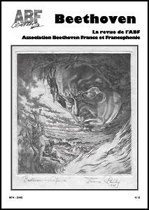 Couverture du n°4 de la revue Beethoven