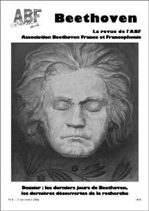 Couverture du n°6 de la revue Beethoven