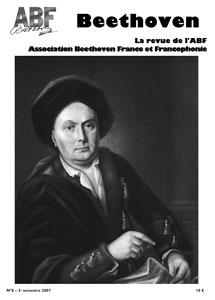 Couverture du n°8 de la revue Beethoven