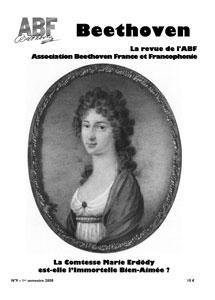 Couverture du n°9 de la revue Beethoven